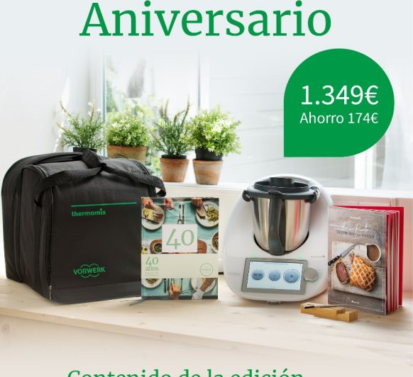 Thermomix® 40 ANIVERSARIO!!!! VILLANUEVA DE LA SERENA- DON BENITO- BADAJOZ