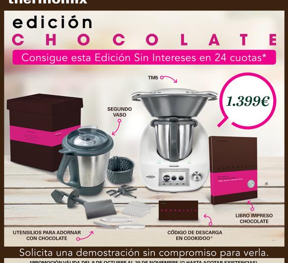 Nueva promoción: Edición chocolate