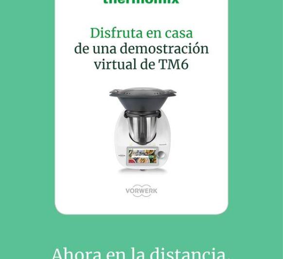 """LA MEJOR FORMA DE CONOCER Thermomix® """"DEMO VIRTUAL"""""""