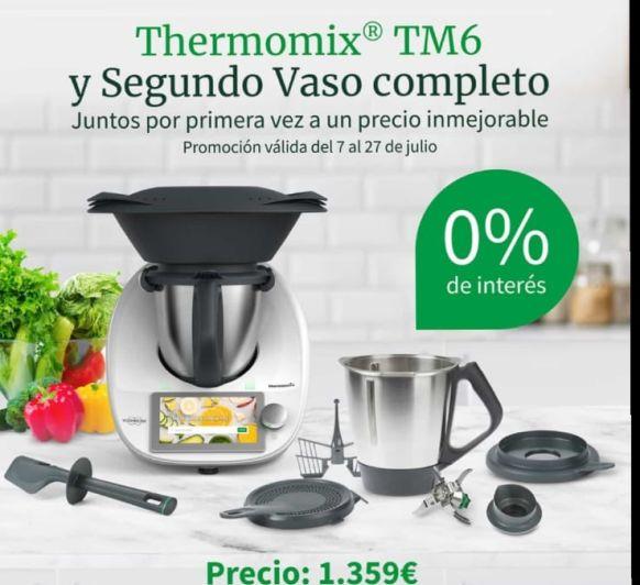 Thermomix® TM6 Y SEGUNDO VASO COMPLETO SIN INTERESES!!!!!!!