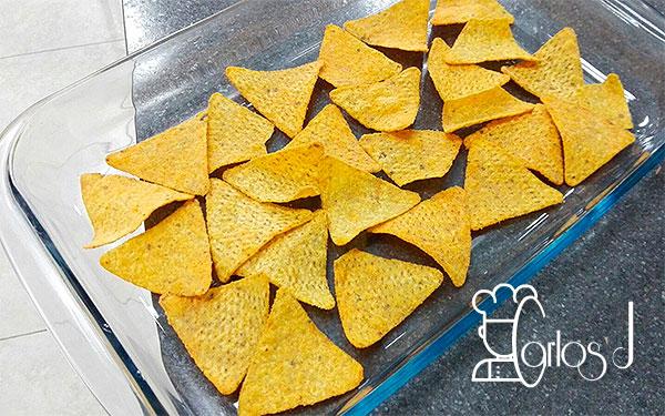 Lasaña mexicana con nachos Tex-Mex