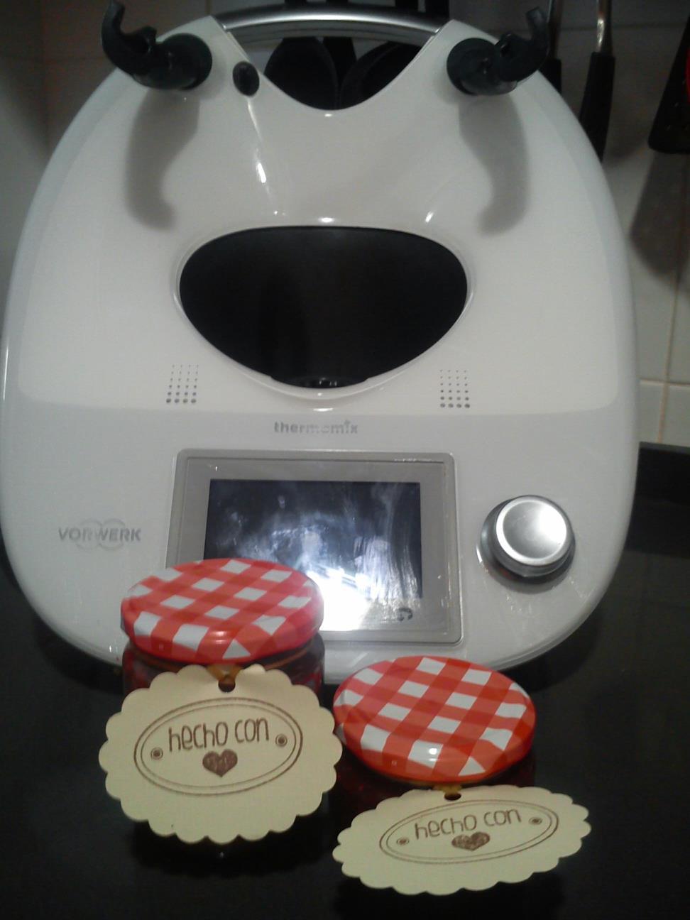 Mermelada hecha en casa con Thermomix®