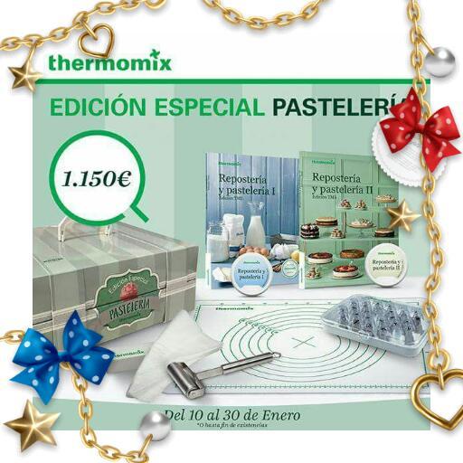 Nueva edición de Pastelería. Thermomix® . Badajoz y MERIDA