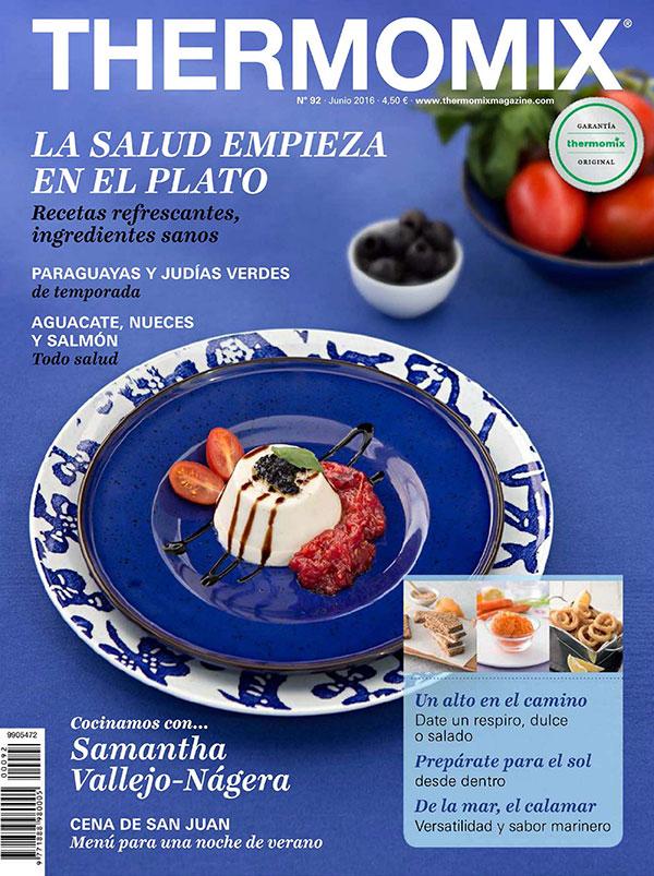 ¡Ya esta a la venta la revista del mes de junio de Thermomix® !