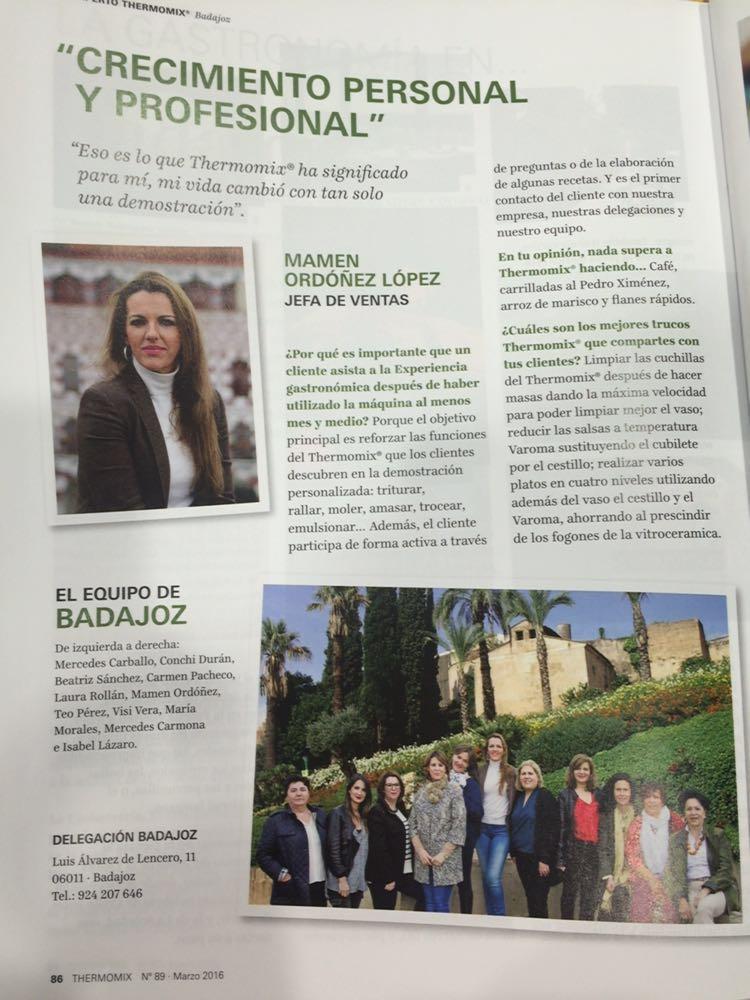 Revista Thermomix® Magazine Marzo de Badajoz
