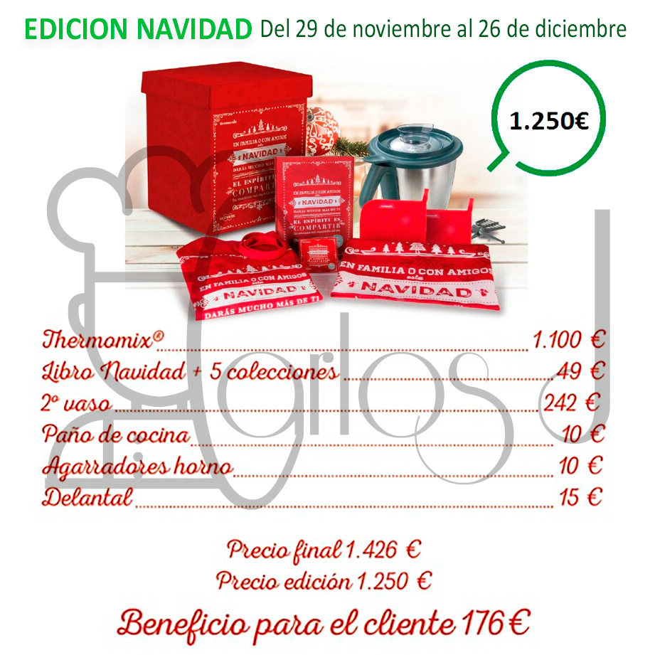 Edición especial de Navidad con Thermomix®