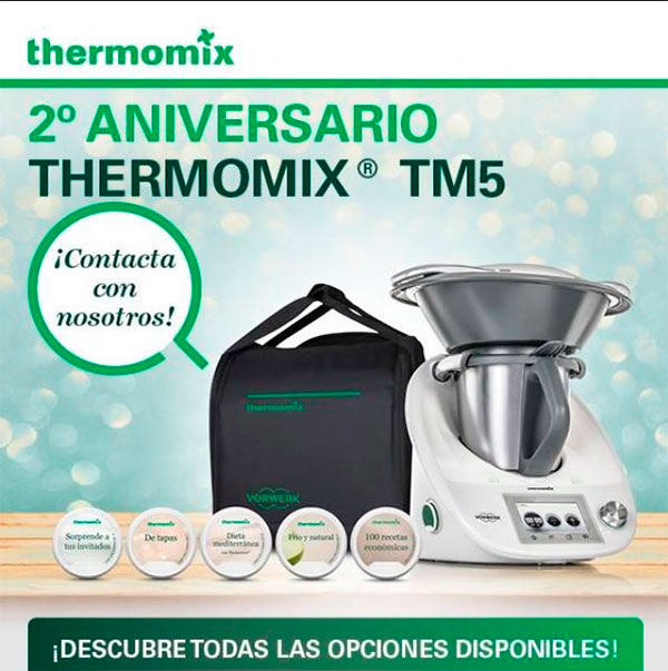 Thermomix® TM5 Segundo Aniversario
