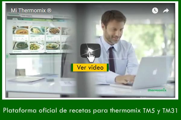 ¿Aun no conoces la plataforma oficial de recetas Thermomix® ? No esperes más.