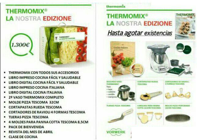 La Nostra Edizione. Thermomix® . Badajoz
