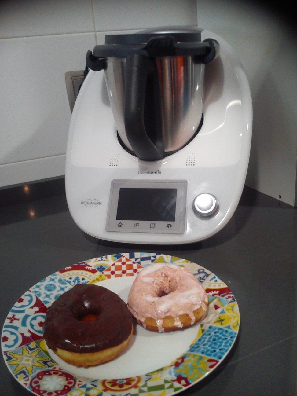 Donuts caseros con Thermomix®