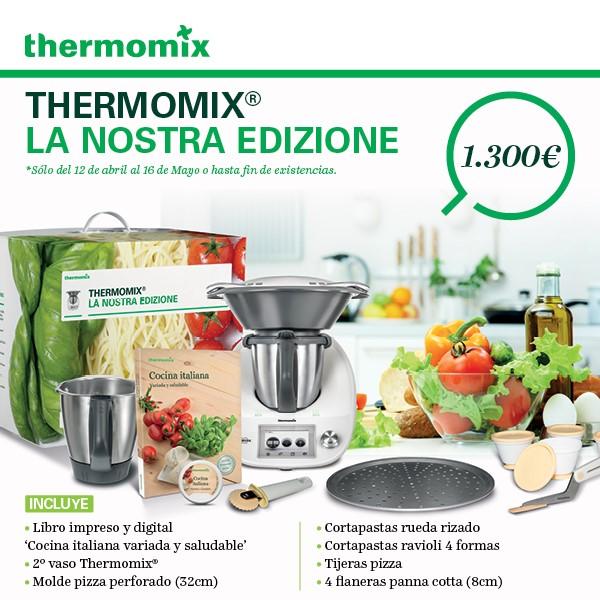 Thermomix® Badajoz-Don Benito-La Serena- Nueva Edición Italiana