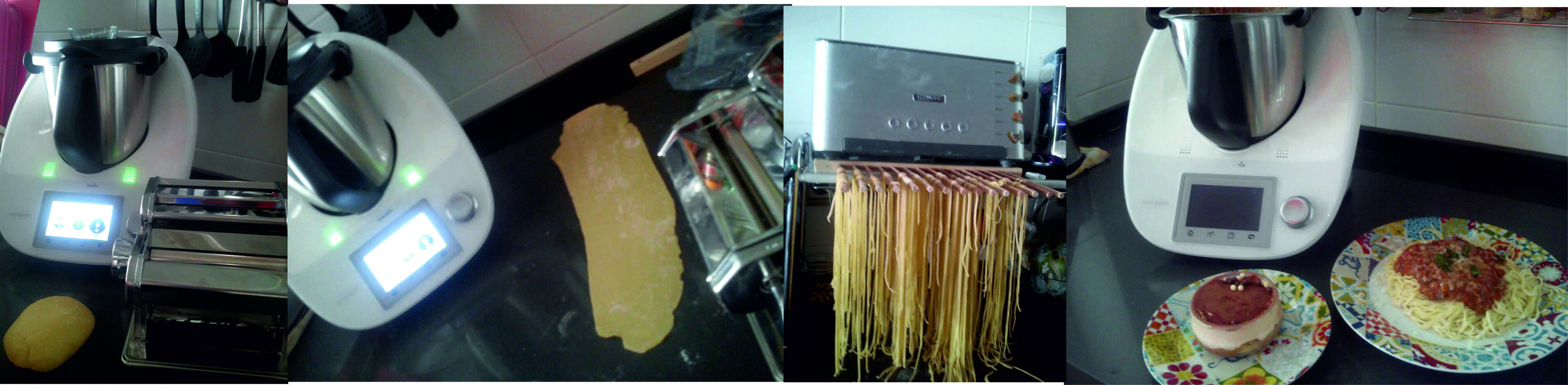 Menú cocina italiana con Thermomix®
