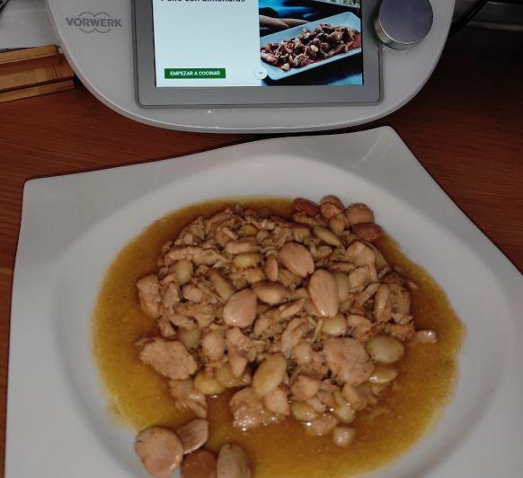 Pollo con almendras en Thermomix® , Badajoz, Mérida y Calamonte