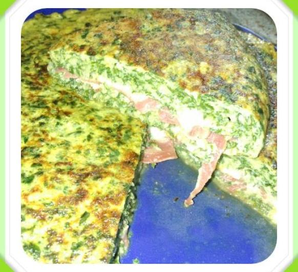 ''Tortilla de Acelgas, rellena'' con Thermomix® . Badajoz