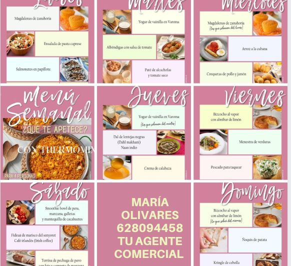 Un plato para cada día Thermomix® Badajoz, Mérida, Calamonte, Almendralejo