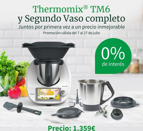 Thermomix® tm6 SIN INTERESES !! Y 2 VASOS COMPLETOS !!!