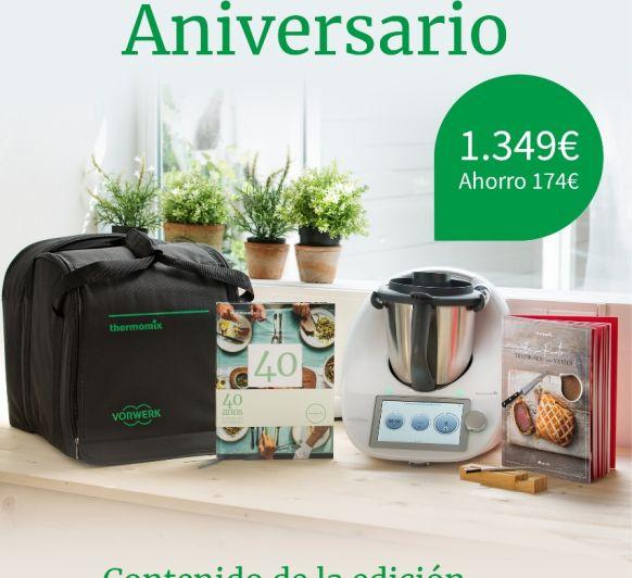 Edición aniversario en Thermomix® Badajoz