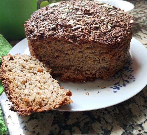 Pan arroz integral, harina de espelta y semillas. Delegación de Badajoz