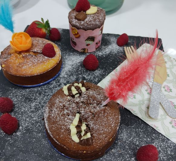 Muffins de tres chocolates - Thermomix® - Don Benito - Badajoz