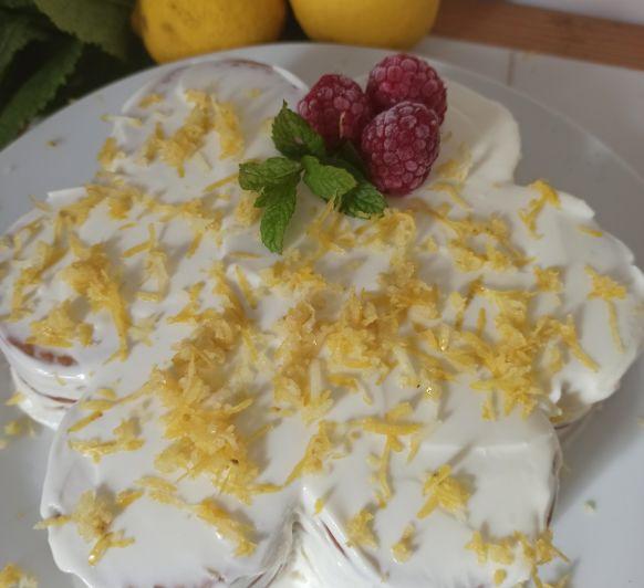 Tarta de leche condensada y limón sin horno Thermomix® Badajoz