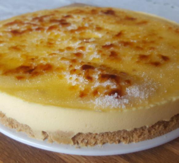 Tarta de crema catalana a la naranja- Thermomix® Badajoz