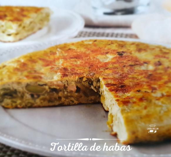 TORTILLA DE HABAS CON Thermomix®