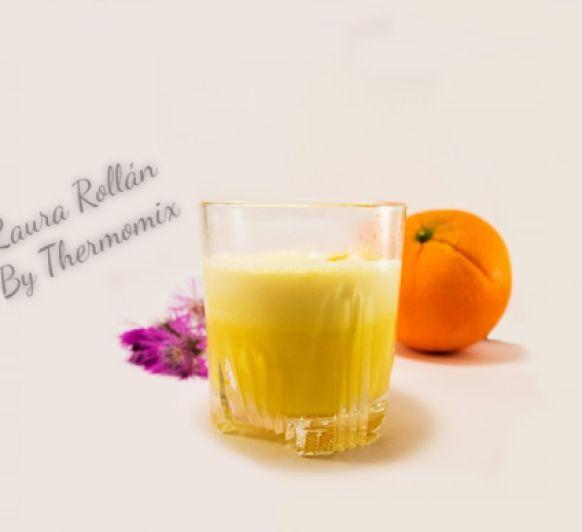 Crema helada de naranja con Thermomix®