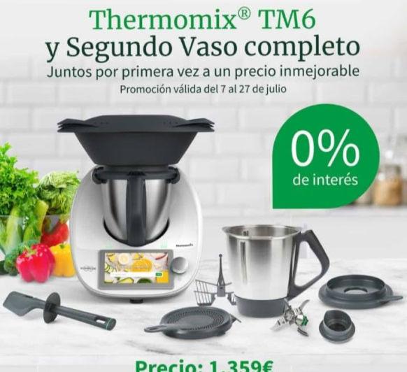 Aprovecha el verano para comprar tu Thermomix® sin intereses y con un segundo vaso completo. Thermomix® Badajoz