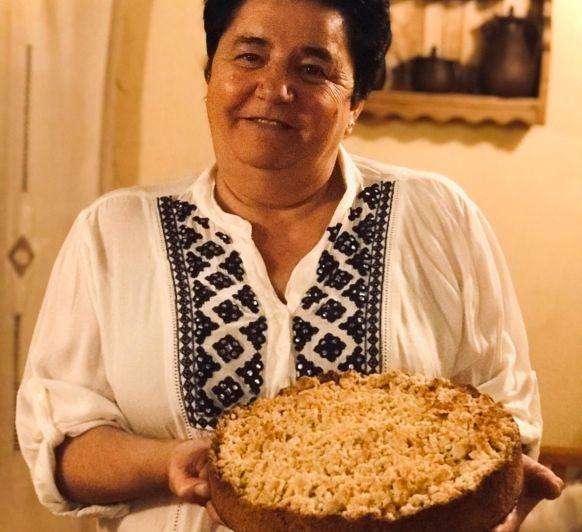 Pastel de manzana alemán con streusel en Thermomix® Badajoz
