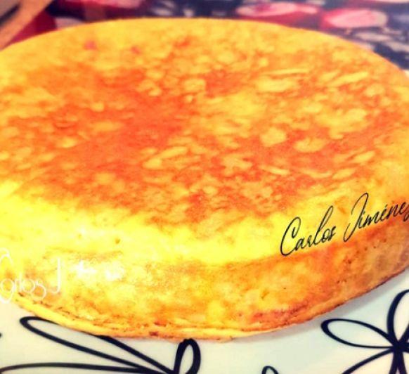 Tortilla rellena de bacon y queso en Thermomix® . Villanueva de la Serena / Don Benito (Badajoz)