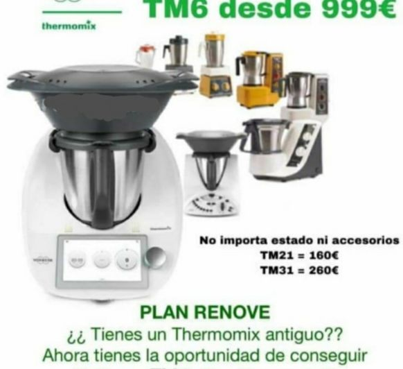 RENOVE PARA Thermomix® TM-6 Zafra( Badajoz)