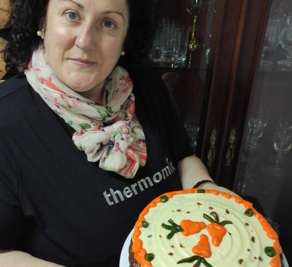 TARTA DE ZANAHORIA ( CARROT CAKE)