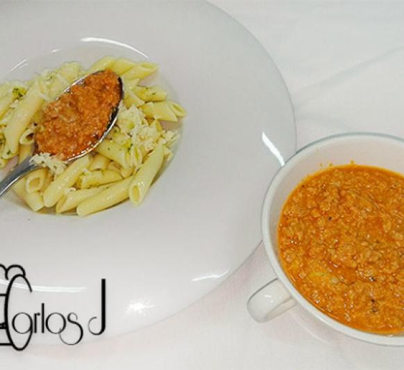 Salsa bolognesa mixta