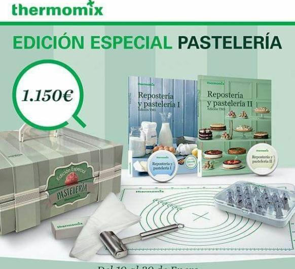 EDICIÓN PASTELERÍA CON Thermomix® BADAJOZ