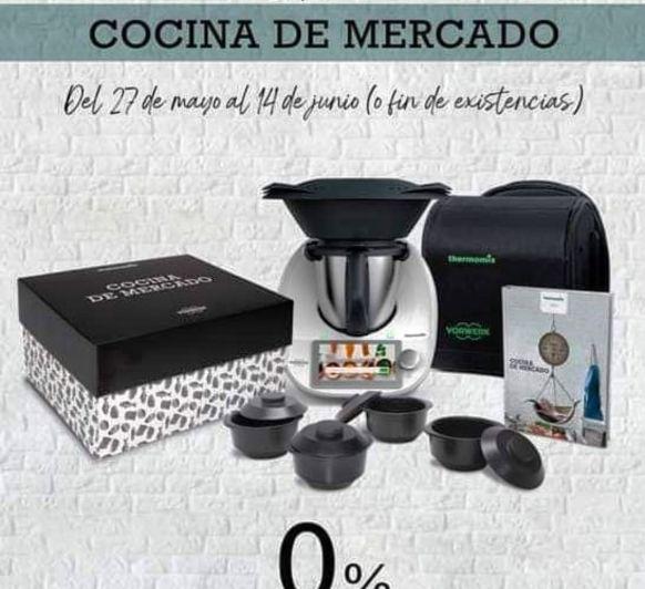 Thermomix® con edición Cocina de mercado SIN INTERESES en MÉRIDA BADAJOZ DON BENITO ZAFRA