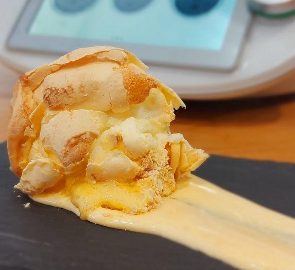 Huevos Dorados (Postre fácil y rico con solo 2 ingredientes) en Thermomix® Tm6 España