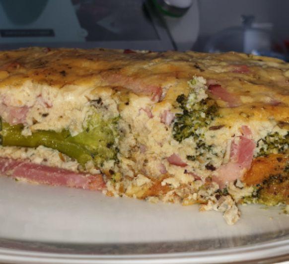 Pastel de brócoli y bacon con Thermomix® Villanueva de la Serena- Badajoz