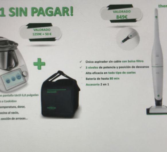 ATENCIÓN ¡2X1 Thermomix® Y KOBOLD ® SIN PAGAR!
