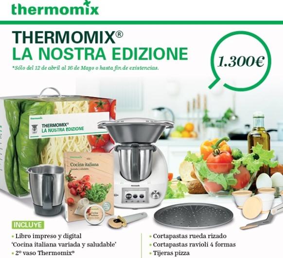 PROMOCIÓN COCINA ITALIANA. Thermomix® BADAJOZ