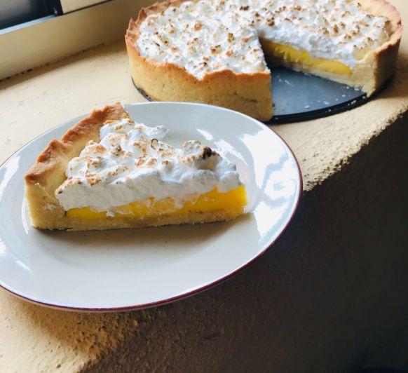 Tarta de limón y merengue (Lemon Pie) en Thermomix® Badajoz