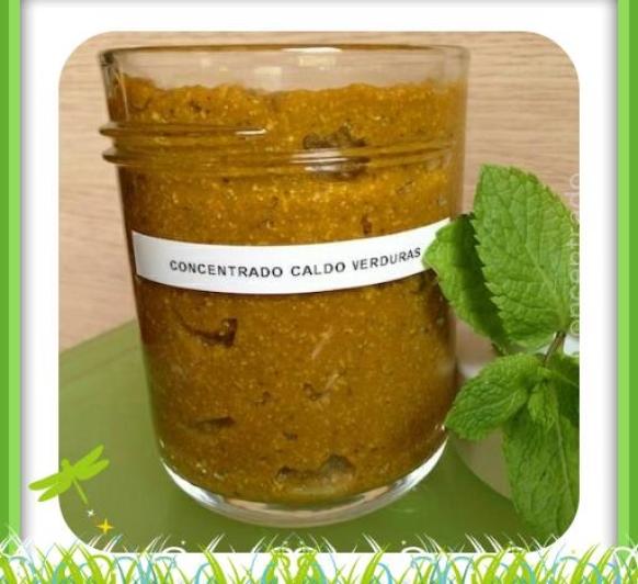 Concentrado de Caldo de Verduras con Thermomix® . Badajoz