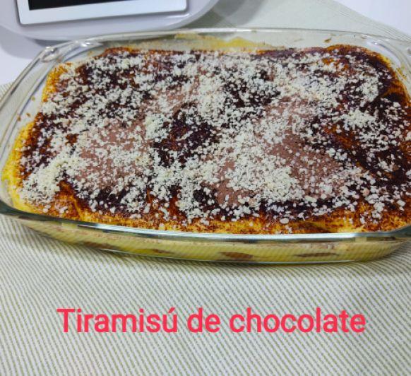 TIRAMISU DE CHOCOLATE - Thermomix® - DON BENITO - BADAJOZ