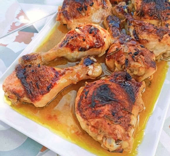 Pollo asado con Thermomix® delegación Badajoz