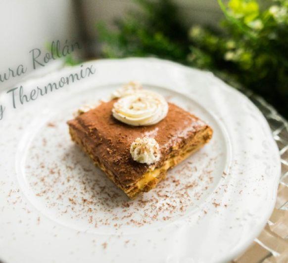 Tarta de galletas y sorbete de café exprés con Thermomix® Villanueva de la Serena-Badajoz