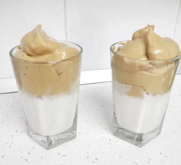 ESPUMA DE CAFE SOLUBRE (CAFE DALGONA) CON Thermomix® - DON BENITO - BADAJOZ