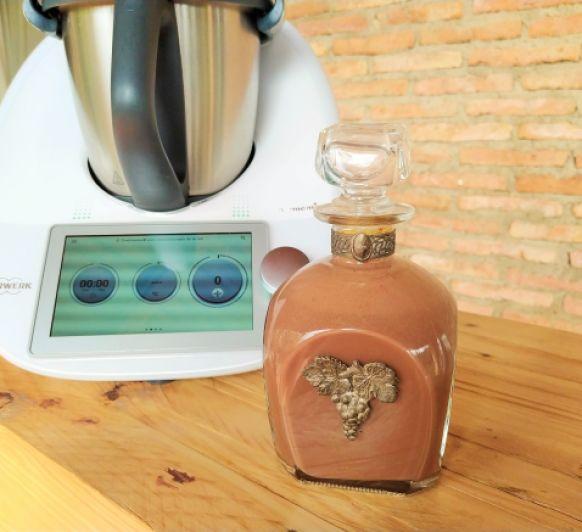 Crema de whisky. Thermomix® Badajoz