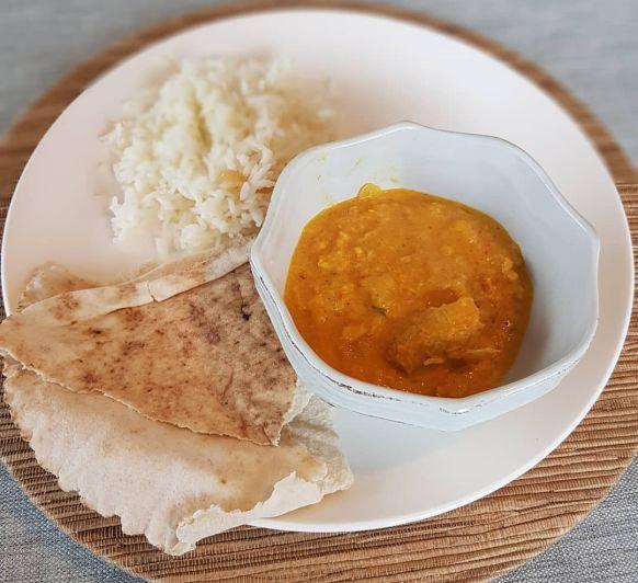 Curry cremoso de pollo (Butter chicken - India) Thermomix® Badajoz, Mérida, Calamonte