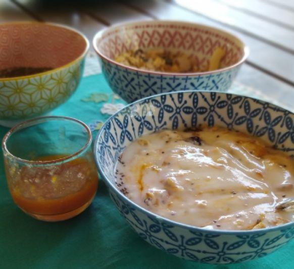 Yogur natural en varoma. Thermomix® Badajoz.