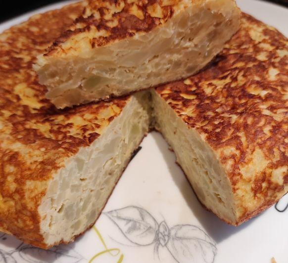 Tortilla de Coliflor en Thermomix® , Mérida y Badajoz