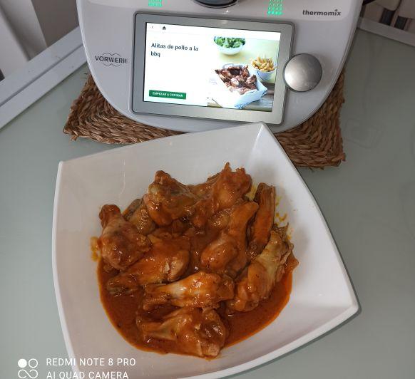 Alitas de pollo a mi manera Thermomix® Zafra